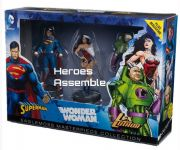 DC Justice League Masterpiece Figurine Collection Set Superman Lex Luthor Wonder Woman Eaglemoss